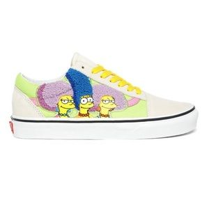 Vans x The Simpsons Old Skool Bouviers Sneakers